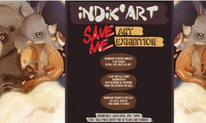 Art Exhibition: 'Save me'