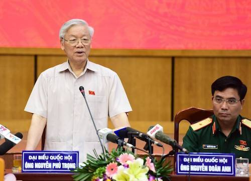 Vietnam's Party chief says 'more will come' after high-profile punishment