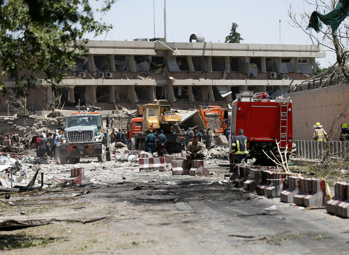 Huge bomb blast kills 80, wounds hundreds in Afghan capital