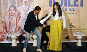 Bollywood film spotlights India's toilet shortage
