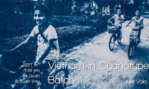 Vietnam in Cyanotype: Batch 1 by Julie Vola