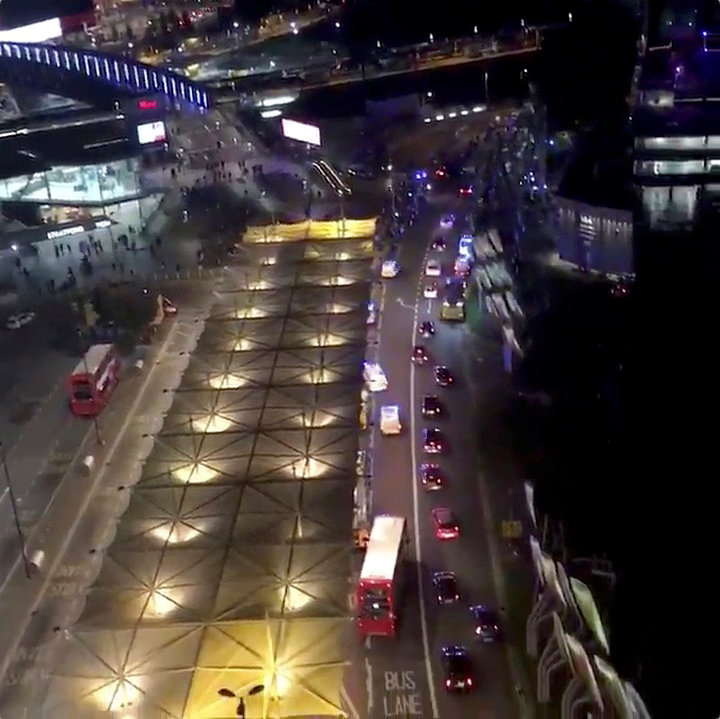 Six people believed injured in suspected London acid attack
