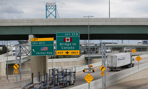 Trump says NAFTA talks 'tough,' failure possible