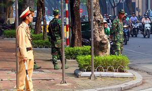 Vietnam's capital beefs up security ahead of Trump's arrival