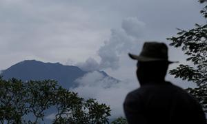 Small eruption at Bali volcano triggers Singapore travel advisory