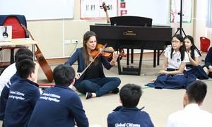 British International School Hanoi offers music studies fit for royalty