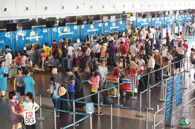 2017 marks busiest year ever for Vietnam airports