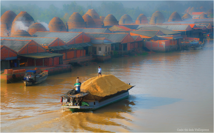 Mekong Delta. Photo from VnExpress Photo Contest/Pham Tri Long