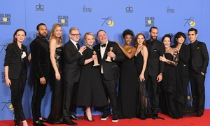 'Blackout' on Globes red carpet for harassment victims