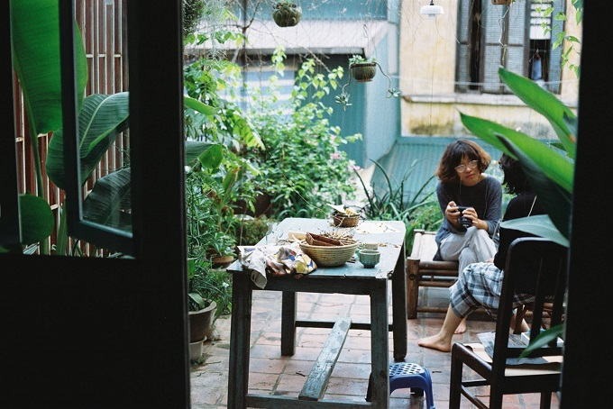Homestay is becoming more popular in big cities such as Hanoi or Saigon. Photo courtesy of Le Bleu homestay.