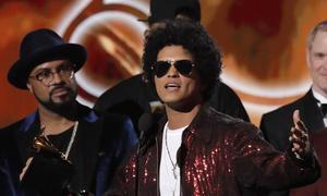Grammy winners in key categories