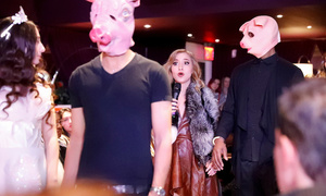 #MeToo fashion show opens with angel wing models, pig-faced men