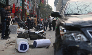 Road crashes kill 70 Vietnamese in two days of Tet