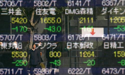 Asian shares rise to 3-week high ahead of Powell's testimony