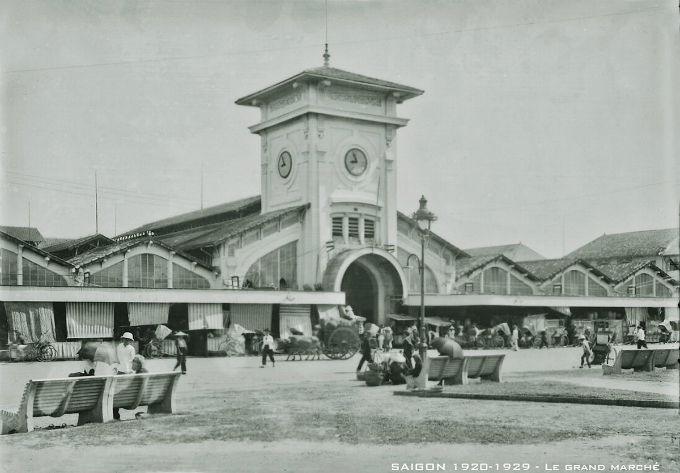Until today, Ben Thanh Market remains of one of the most visited places in Saigon.