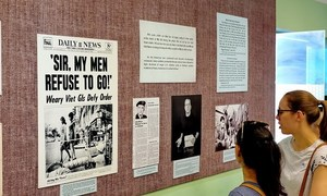 War exhibition delivers messages of peace in Ho Chi Minh City