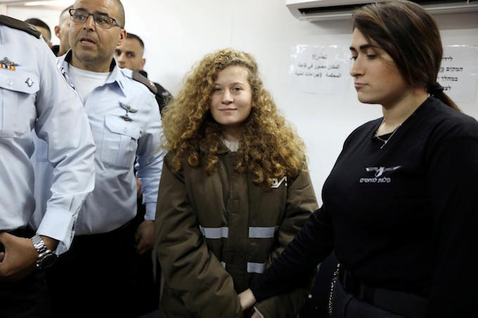 Palestinian teen on trial for striking Israeli soldier agrees plea deal