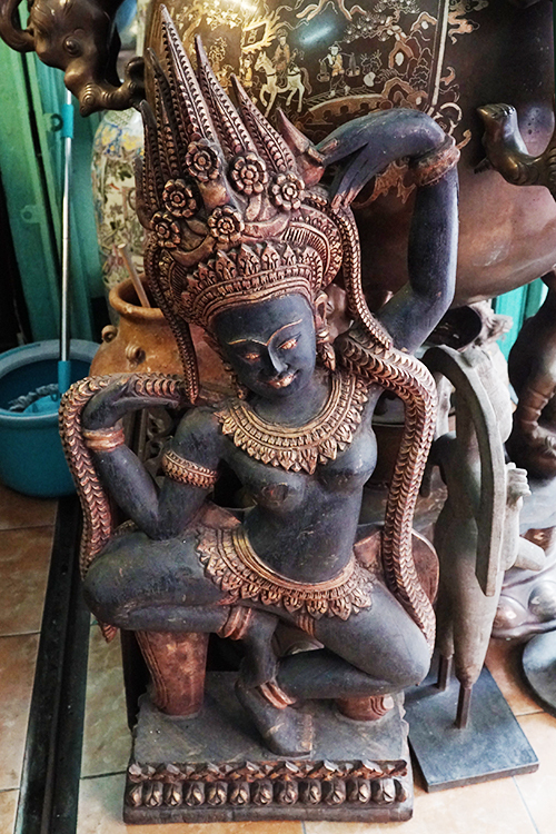 This statue of a Hindu deity is being sold at VND10 million ($438).