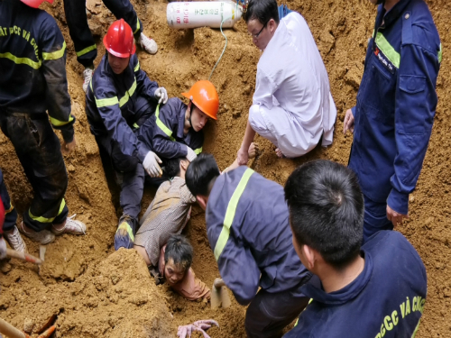 Landslide kills 3 at construction site in northern Vietnam