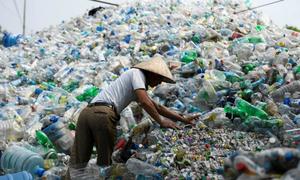 Southeast Asia choking on plastic waste