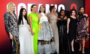 'Ocean's 8,' a glamorous crime tale for the #MeToo age