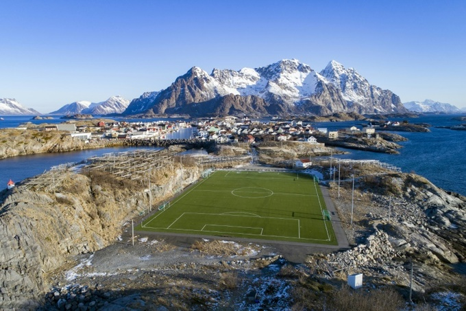 The weird to the wonderful: football pitches of the world