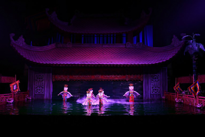 The shows traditionally featured age-old fables and mythical lore, like the famous Hanoi parable about a Vietnamese kings treasured sword that was used to fight off Chinese invaders. Photo by AFP/Manan Vatsyayana