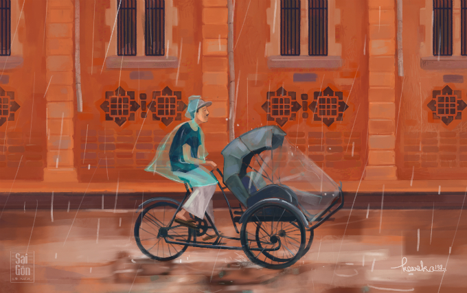 Get drenched in the beauty of Saigon - 1