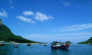 Pristine sands of Con Dao await your footprints