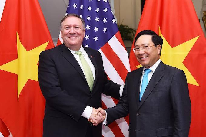 Vietnam voices support for US efforts to denuclearize Korean Peninsula