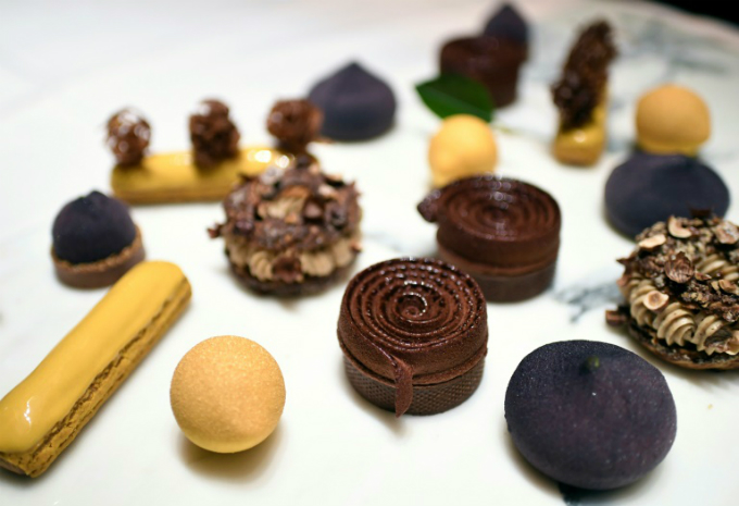 Pastry creations by Le Meurices pastry chef Cedric Grolet are pure  food porn, Vogue declared, with only a select few getting the chance  to consummate their desire every day at the top Paris hotel where he  works. Photo by AFP/Stephane De Sakutin