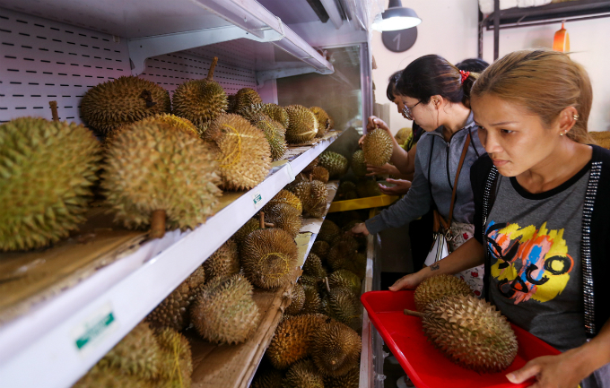Return the seeds when you eat at this Saigons durian spot - 2