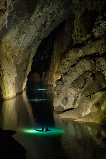 From 2019, additional light systems will be added to Son Doong to allow clearer views inside the dark parts of the cave.