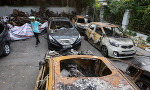 Saigon apartment manager faces criminal charges for fatal blaze