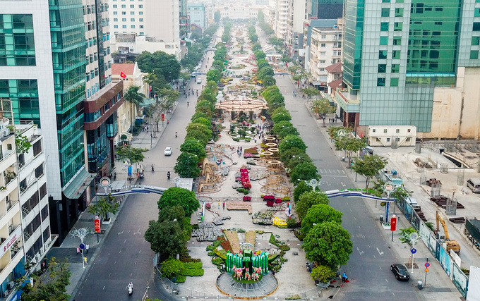 Saigon's first pedestrian street to get major makeover