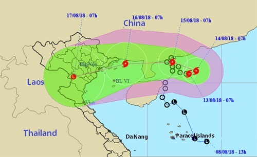 Northern Vietnam braces for yet another tropical storm