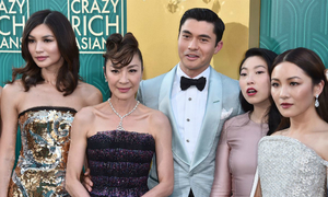 'Crazy Rich Asians' sparkles at North America box office