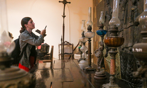 History comes alive through collection of ancient Vietnamese lamps