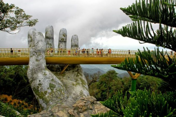 Vietnam's Golden Bridge among Time's top 100 destinations this year
