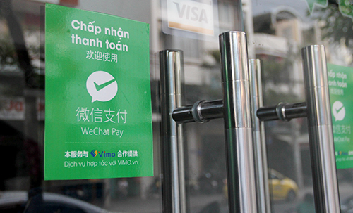 Deputy PM calls for crackdown on Chinese digital wallet payments