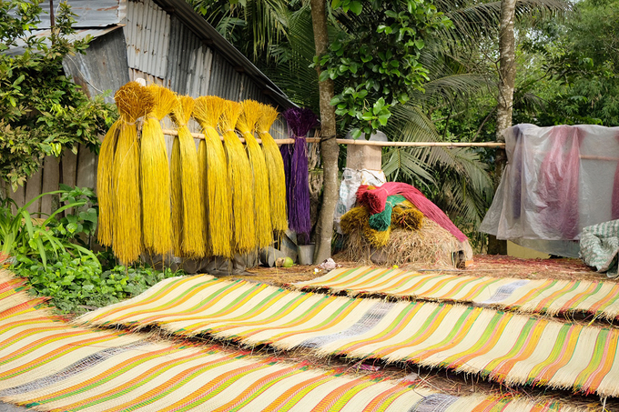 100-year-old mat making village in south Vietnam still going strong - 5