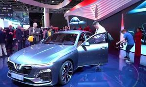 Vietnam's first domestic car manufacturer bets big at Paris Motor Show