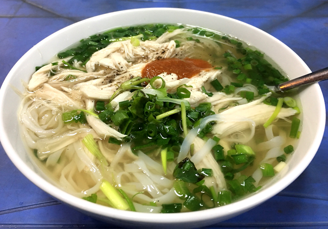 Chicken Pho in Hanoi. Photo by Ngoisao/Parsley