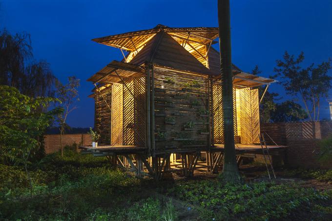 Vietnams bamboo house won prestige German design award
