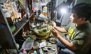 Saigon resident recreates historic events in miniature 3D figurines