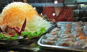 Tickle your taste buds at Hanoi market food court