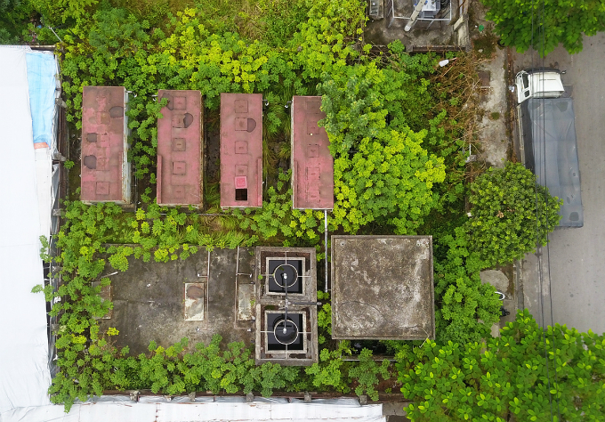 Hanoi wastewater treatment plant abandoned without use