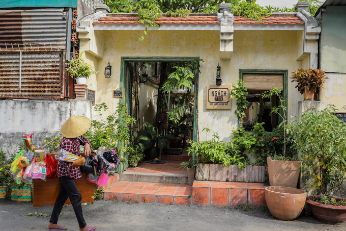 Pay a visit to last centurys Hanoi in this Saigon café