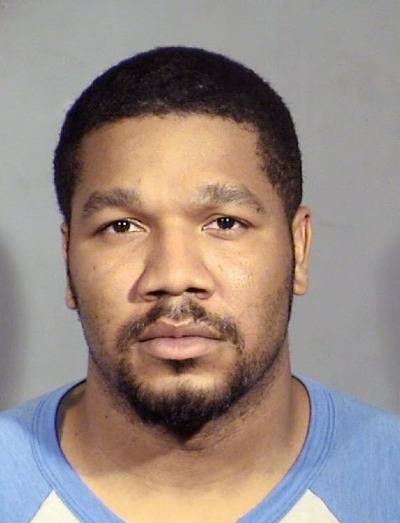 Julius Trotter, charged with killing two Vietnamese tourists in Las Vegas in June this year, in a file photo provided by the Las Vegas Metropolitan Police Department