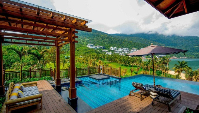 InterContinential Danang Sun Peninsula ranked 15 in CnTraveler list for best resort. Photo courtesy of InterContinential.